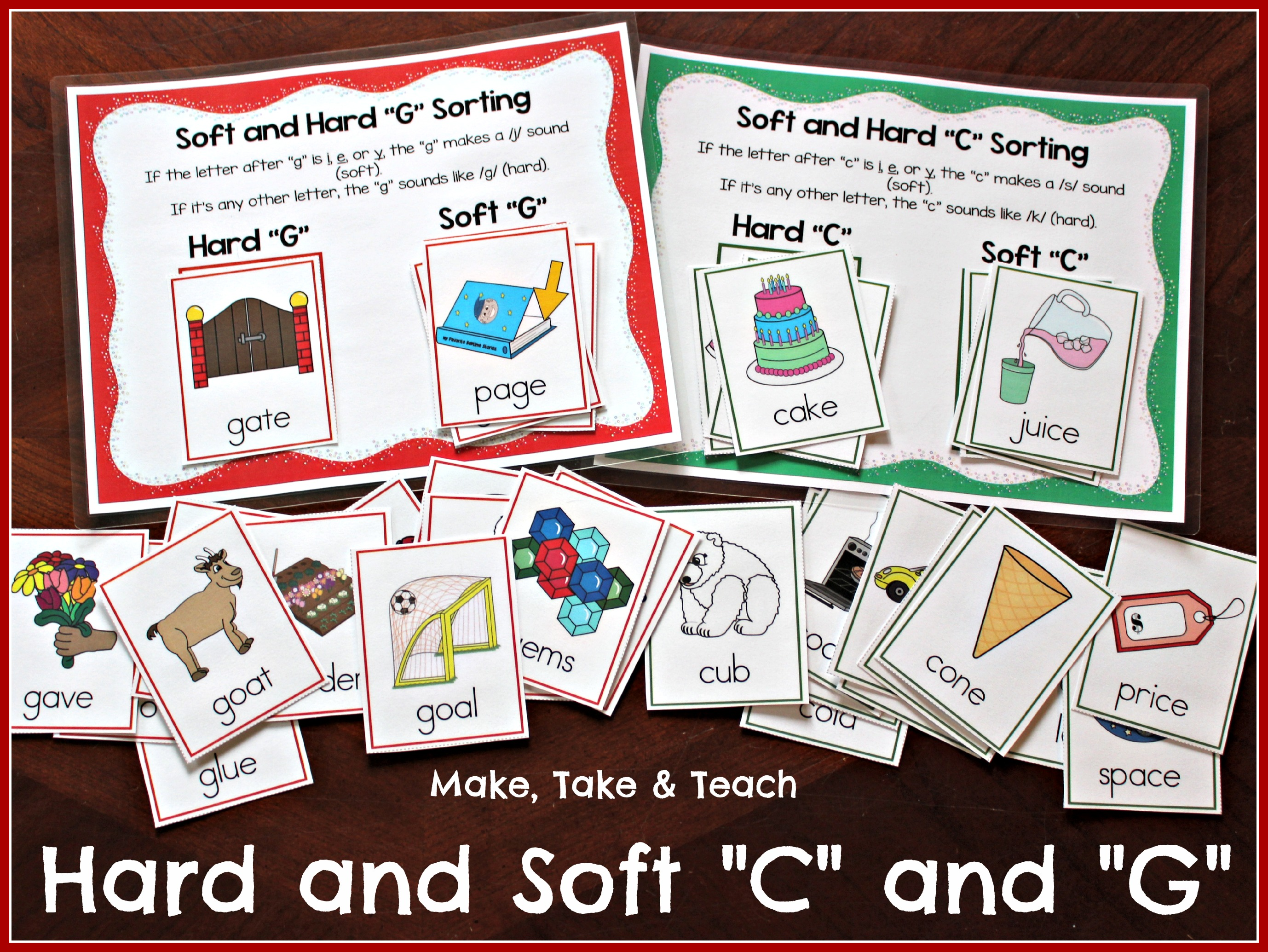 G Sorting Worksheet