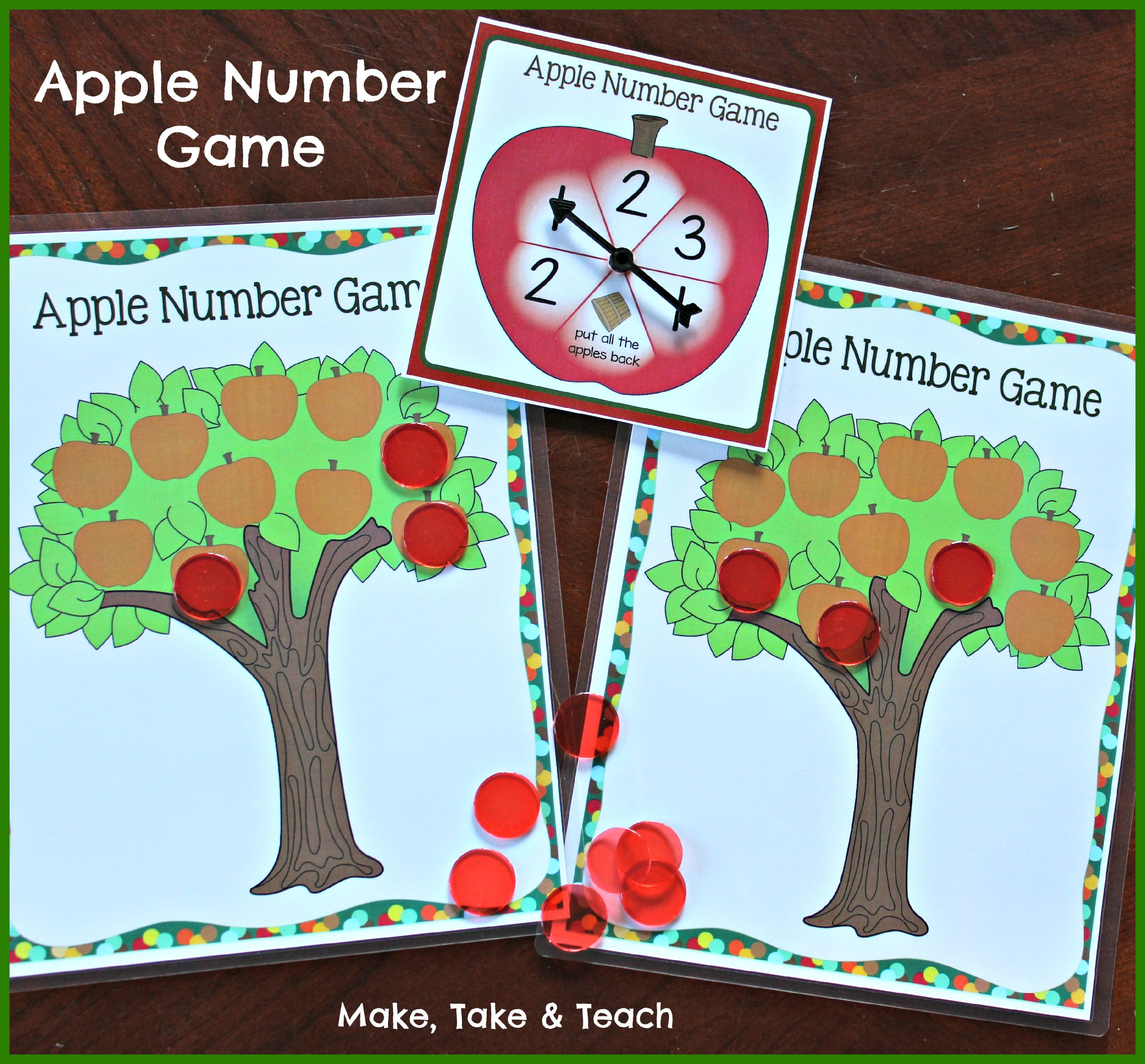 Even More Apple Themed Activities