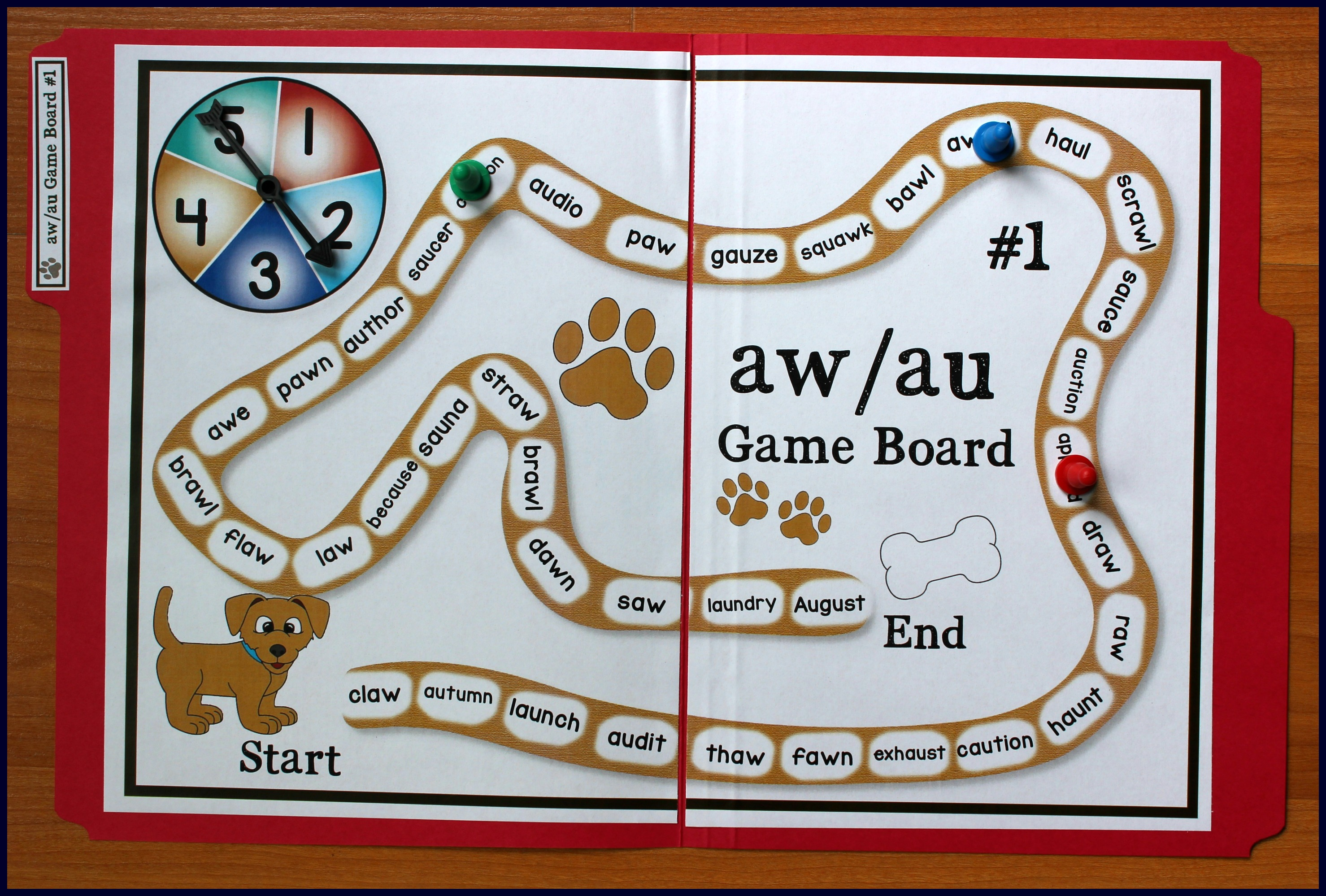 Compound Word Game With Long A Words Ay Ai And Ae