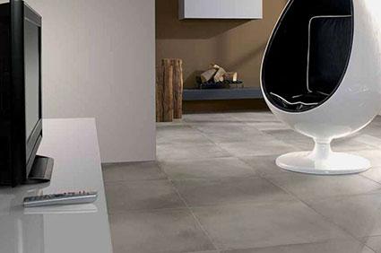 Concrete tile grey matt villeroy boch