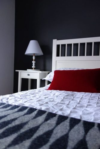 Hemnes Bed and Bedside