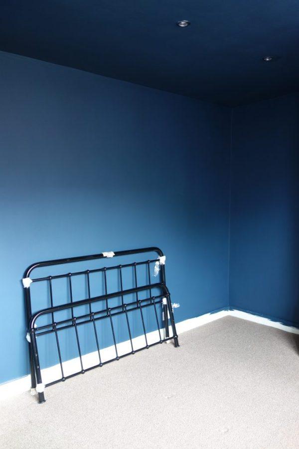 valspar deep shadow and bed