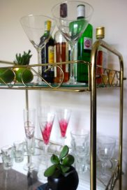Gold Drinks Trolley - £2.50