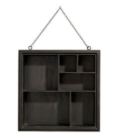 h&m storage display case