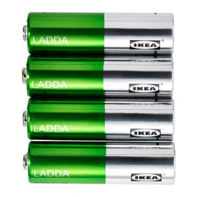 LADDA Rechargeable Batteries