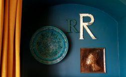 Salvaged shop signage. Letter R - £12
