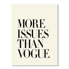 More Issues Than Vogue by Americanflat