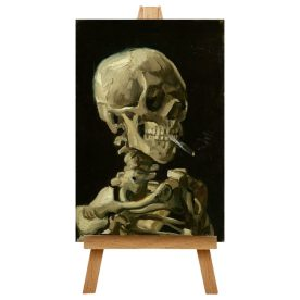 Cigarette with Skull by Big Box Art