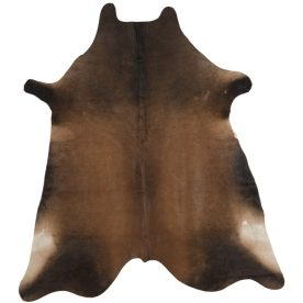 Dallas Cowhide Dark Brown Area Rug by Safavieh
