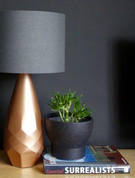 Copper lamp and Van Gogh