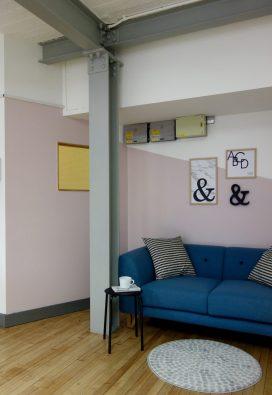 Asymmetrical Wall