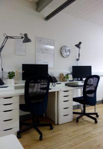Scandi Inspired Workspace