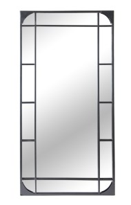 Outdoor Metal Rectangular Mirror