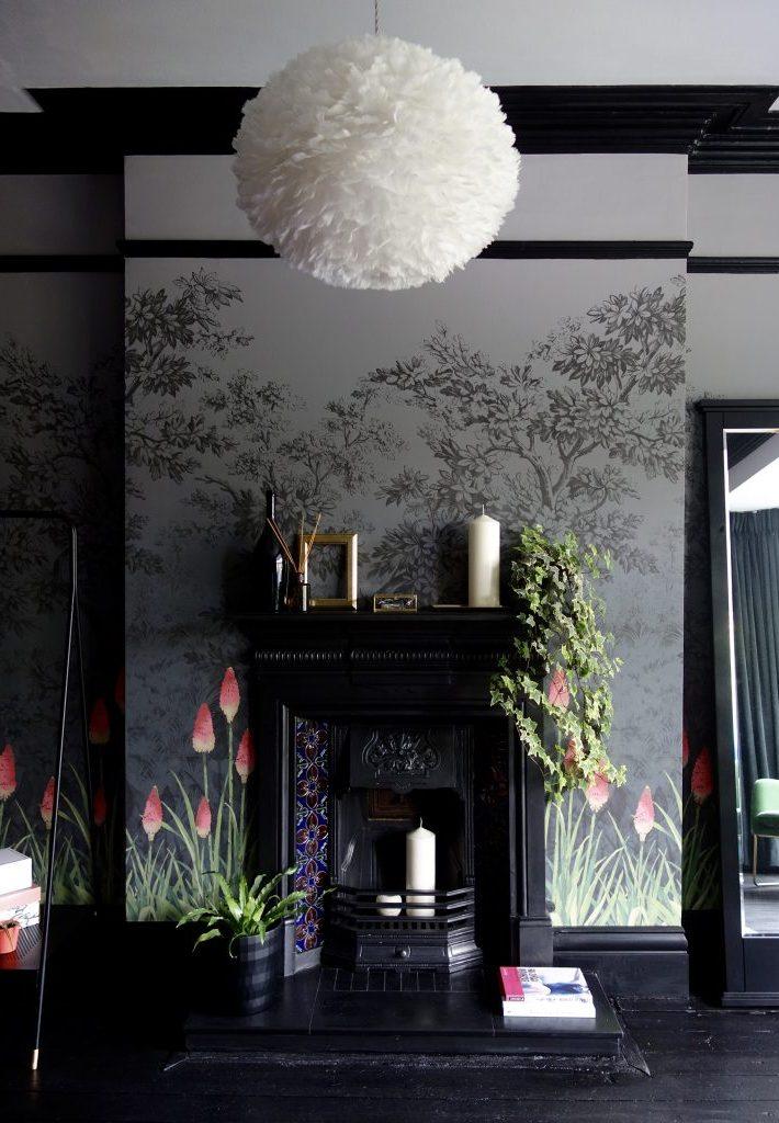 Edwardian Cast Iron Fireplace
