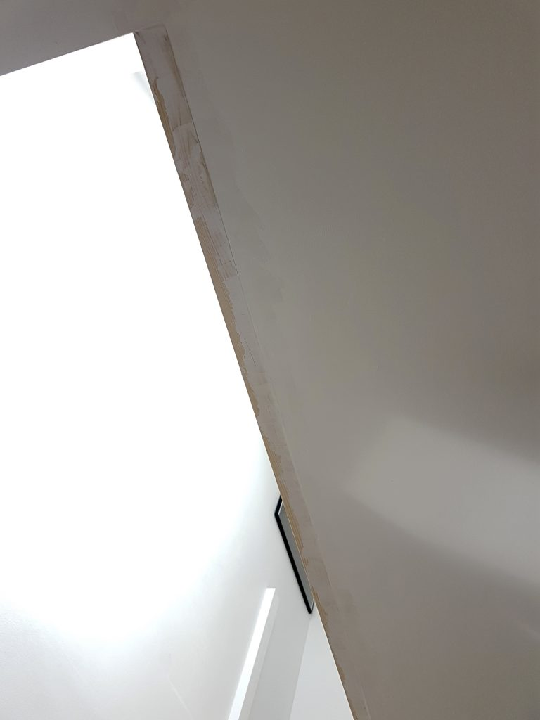 Baton fixed to ceiling