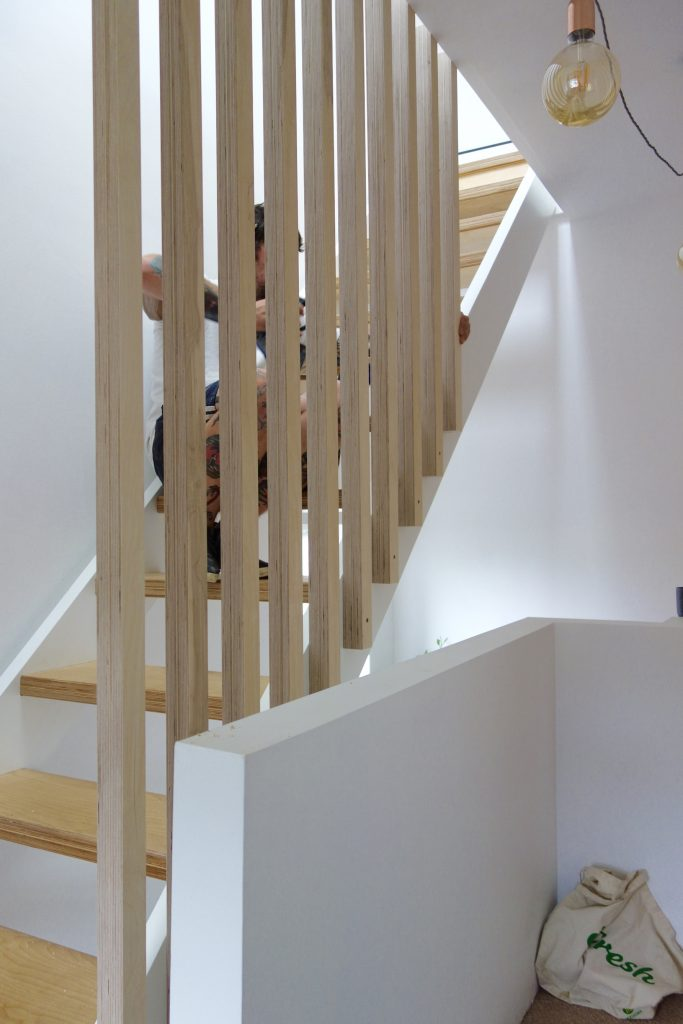 Birch ply spindles
