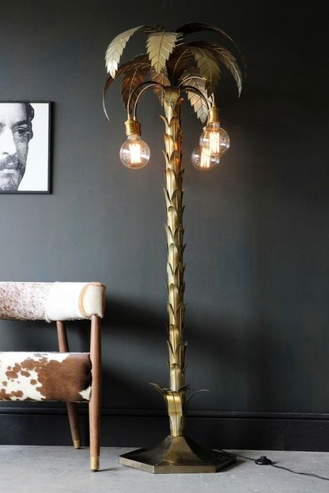 Palm Tree Floor Lamp from Rockett St George