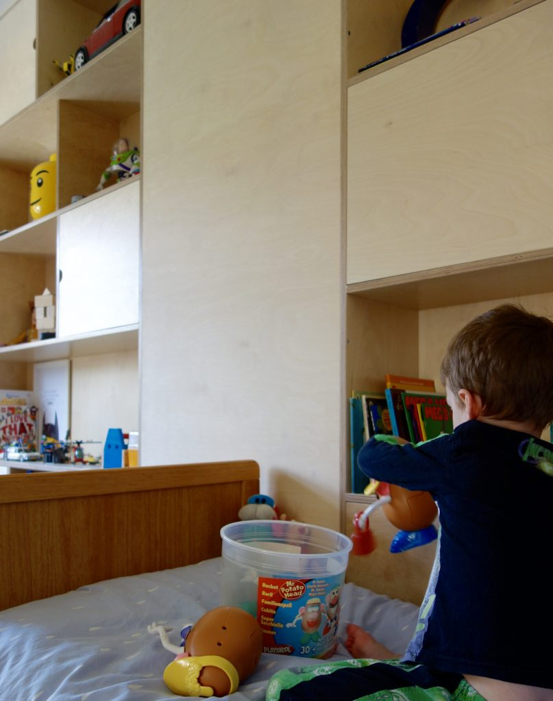 Bedroom and Playroom