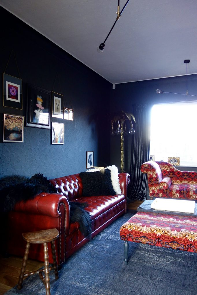 The Red Room Final Reveal A 1930 S Living Room Gets A