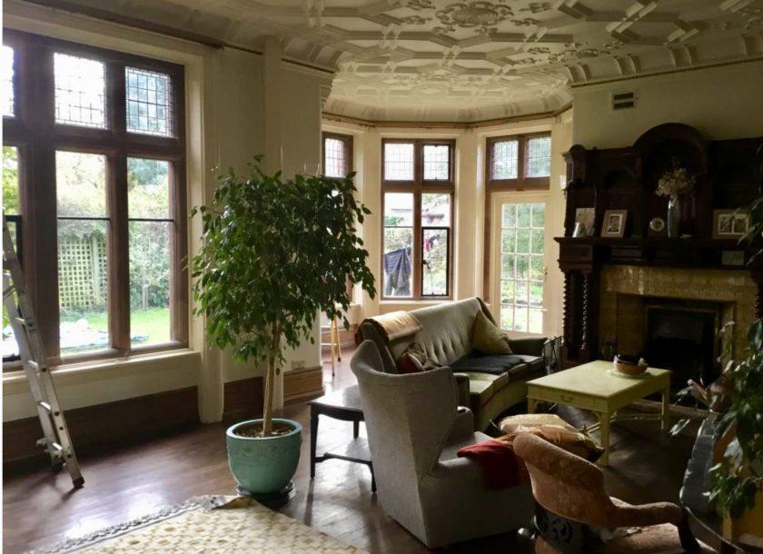 Arts & Crafts Interior Design Before
