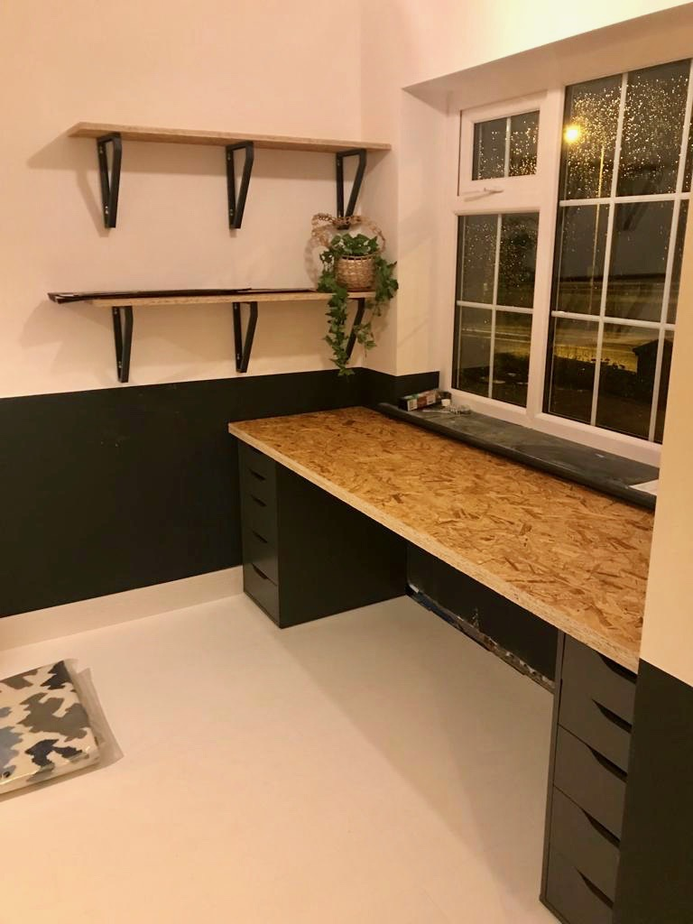 Integral Garage Conversion - Nearly Finished