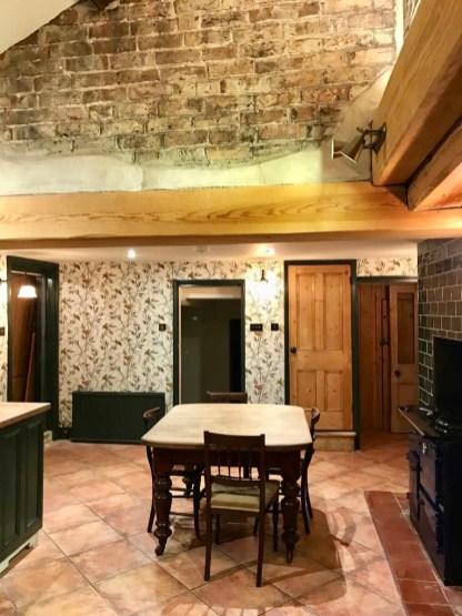 Cottage Kitchen During