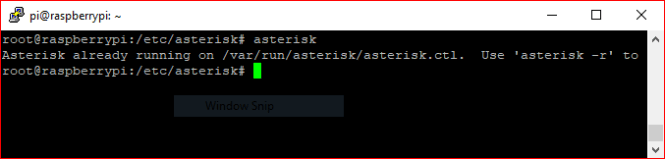 asterisk command
