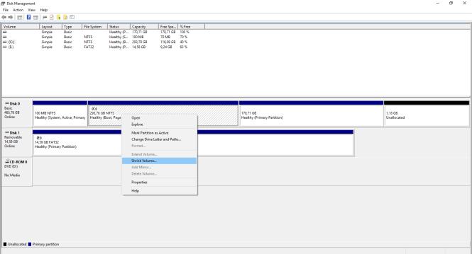 Windows10-ShrinkDisk