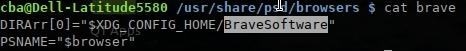 accélérer votre navigateur - psd - ajouter la navigateur Brave