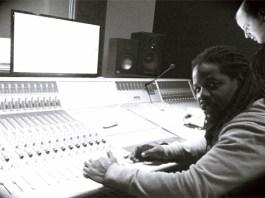 C.O in the studio in Amsterdam