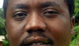 Angiru Fumulani - lead singer/ band-leader of the Black Missonaries