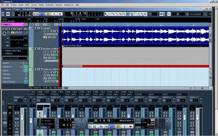 Sample With Cubase Step 2