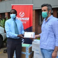Premier Loto donates thousands of protection kits to combat Coronavirus