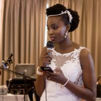 Female rapper Faith Dj explains how she surprised hubby with love song on their wedding