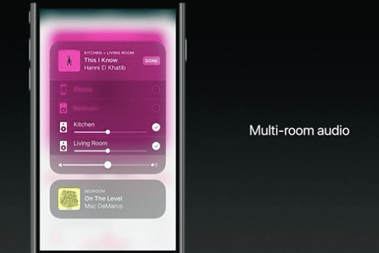 AirPlay 2 Features multi room audio