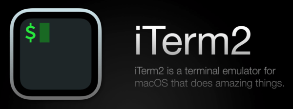 iTerm2 is a terminal emulator for macOS that does amazing things
