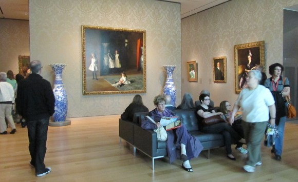 Art of the Americas wing, Boston MFA. Photo by the author.