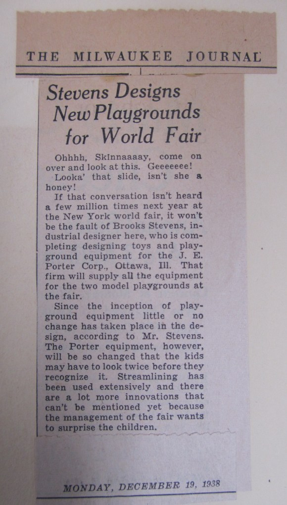 the Milwaukee Journal, 1938