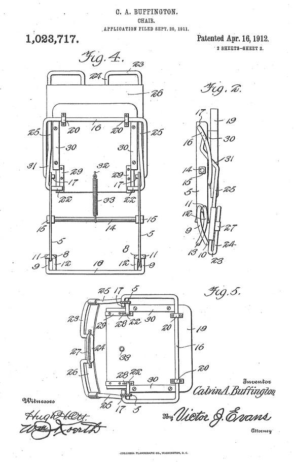 Buffington Patent
