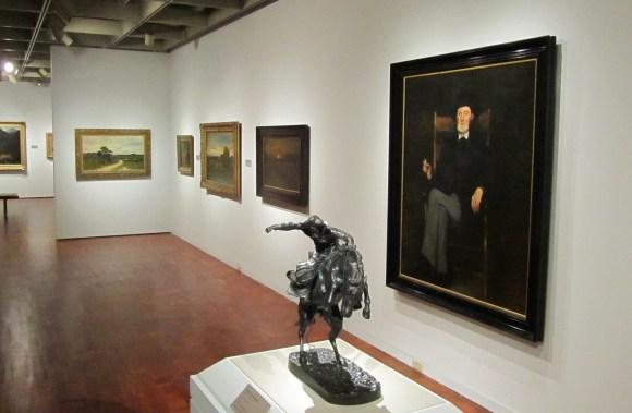 Milwaukee Art Museum American Paintings gallery, August 2011 reinstallation. Photo by Mel Buchanan.