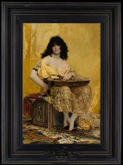 Henri Regnault (French, 1843–1871), Salomé, 1870. Metropolitan Museum of Art, Gift of George F. Baker