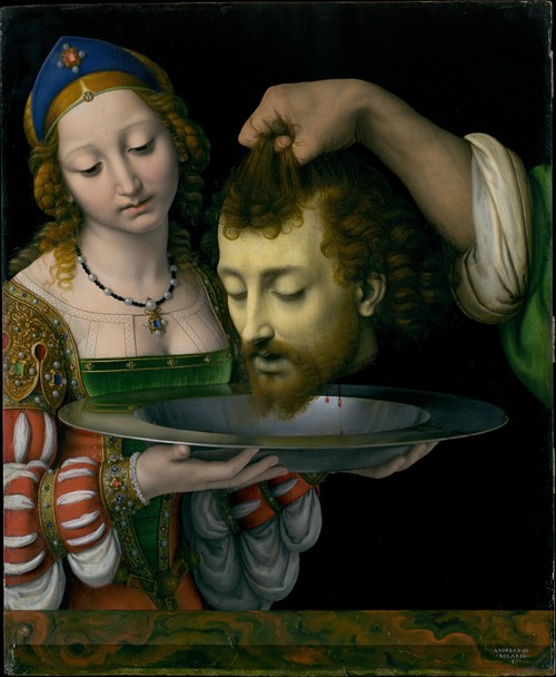 Metropolitan Museum of Art, Salome by Solario