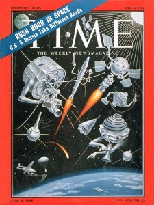 TIME magazine cover, June 6, 1960. MIAD collection.