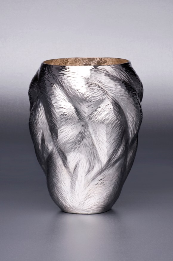 Ndidi Ekubia, Connection Vase, 2011. Photo by Stephen Brayne