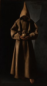 Francisco de Zurbarán (Spanish, 1598–1664). Saint Francis of Assisi in His Tomb, 1630/34. Oil on canvas. Milwaukee Art Museum, Purchase. Photo credit John R. Glembin
