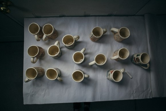 Mugs in the making. Photo by Megan Yanz Photography