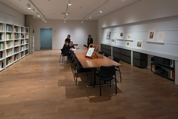 Herzfeld Photography, Print, and Drawing Study Center. Photo credit: John Glembin.