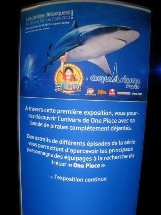 Aquarium de paris exposition one piece streaming online manga tv legal gratuit expo - 01