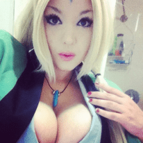 Naruto best sexy cosplay Tsunade female anime online manga tv streaming legal gratuit