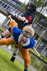 Naruto cosplay Sasuke Rivals anime online manga tv streaming legal gratuit